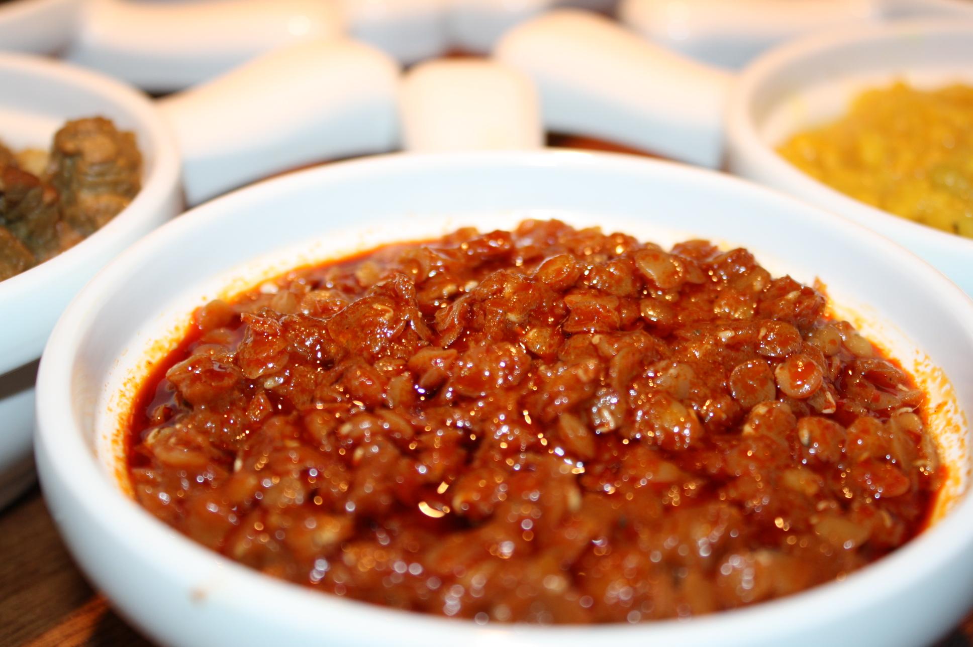 የምስር ወጥ YeMiSir WoT @ Benyam Ethiopian Cuisine